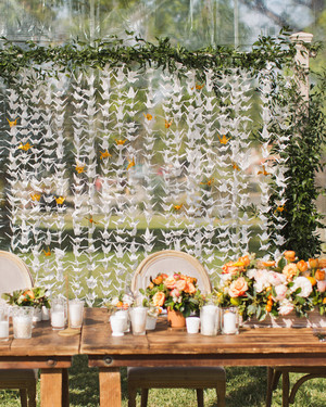 A Sunny, Citrus-Themed California Wedding