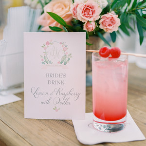 bride signature cocktail