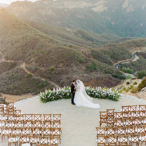 tillie dalton wedding couple enjoying view