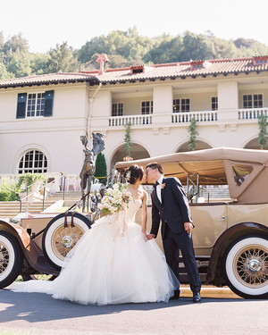A Regal, Romantic Summer Wedding at a California Mansion