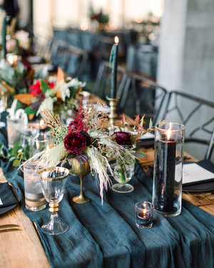 25 Jewel-Toned Wedding Centerpieces Sure to Wow Your Guests