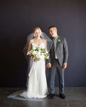 This Chic, Modern Wedding Took Place in a Los Angeles Loft
