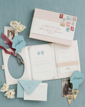 A Trend We've Loving: Booklet Wedding Invitations
