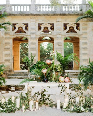 A Garden Wedding at an Epic Miami Venue