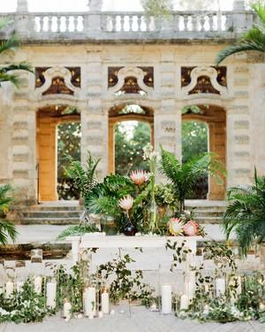 A Garden Wedding at an Epic Miami Venue