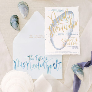 bridal shower invitations love and light