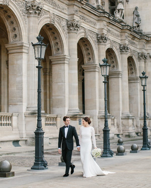 An Intimate Destination Wedding in Paris
