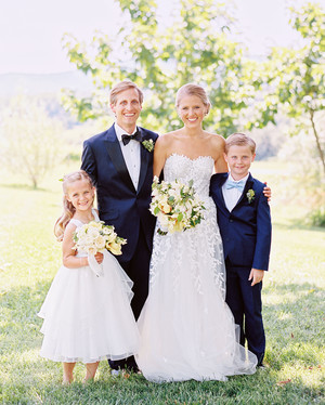 This Couple Chose a Citrus Theme for Their Family-Centric Wedding in Virginia