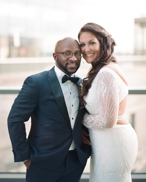One Couple's Elegant Wedding in Baltimore, Maryland