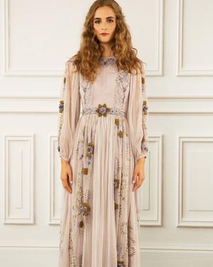 See LA Designer Maria Korovilas' Romantic Debut Bridal Collection