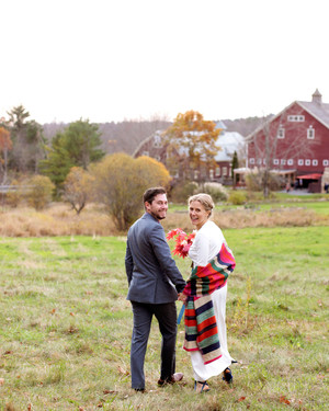 This Couple Personalized Their Colorful Fall Wedding with Tons of DIY Details