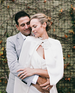 Stylish Ways Real Brides Kept Warm at Their Weddings