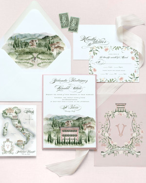 32 Destination Wedding Invitations That Celebrate Your Faraway Locale