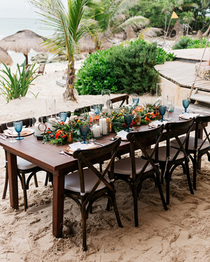 One Couple's Boho Destination Wedding in Tulum, Mexico