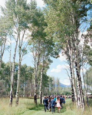 An Elegant, Airy Wedding in Jackson Hole, Wyoming