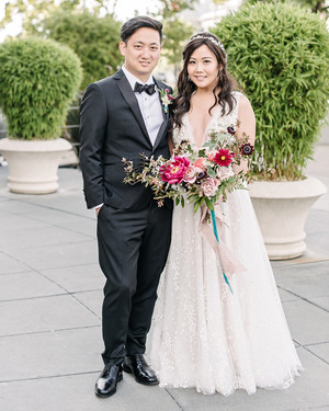 One Couple's Jewel-Toned Wedding in San Francisco