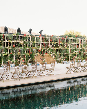 One Couple's Colorful Wedding Weekend at a Country Estate in Spain