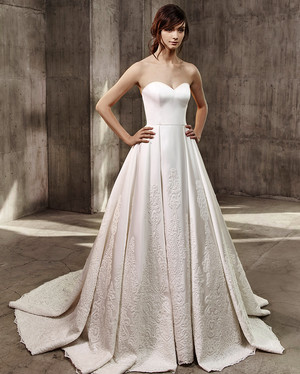 Monique Lhuillier Scarlet Wedding Dress