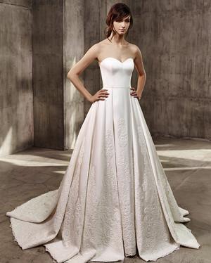 Pnina Tornai Ball Gown Wedding Dresses 81 Epic Badgley Mischka Fall Wedding