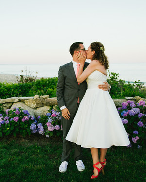 Gabriela and Tyson's Laid-Back Martha's Vineyard Wedding