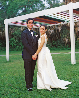 7526816f7a8 A Vibrant Garden Wedding in Texas With European Flair
