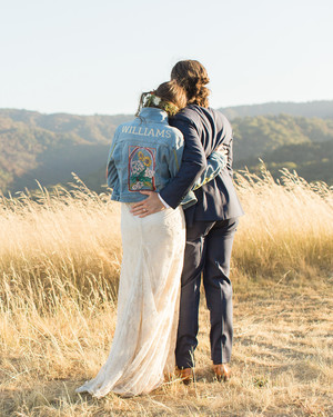 A Wedding Fashion Trend We're Loving: Personalized Bridal Jackets