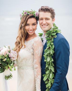 Renee Puente and Matthew Morrison's Destination Wedding in Hawaii