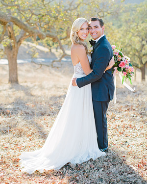 A Boho California Wedding with a Tropical Twist