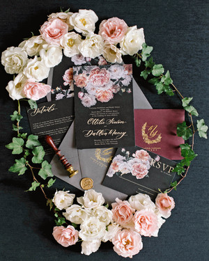 The Prettiest Floral Wedding Invitations