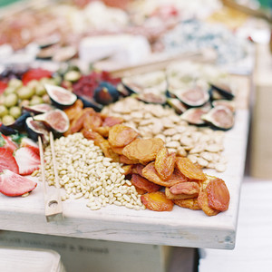 grazing table wedding food stations