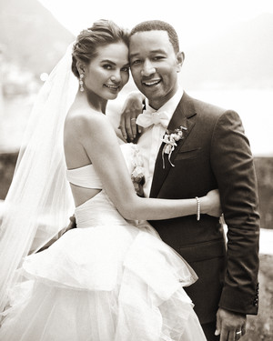 Exclusive Chrissy Teigen And John Legend 039 S Formal Destination Wedding In Lake