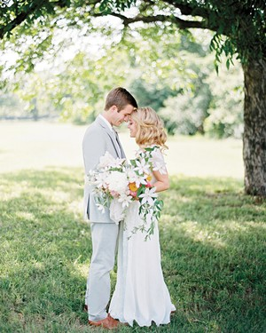 45 spring wedding ideas from real celebrations martha stewart weddings 52 ideas for your spring wedding bouquet junglespirit Choice Image