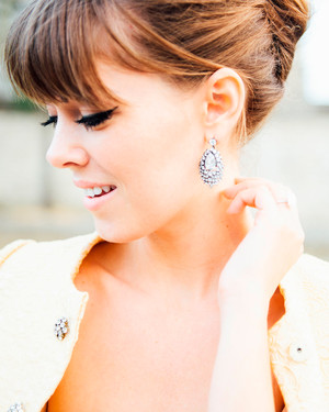 Statement Earrings That Are Perfect for Your Wedding Day