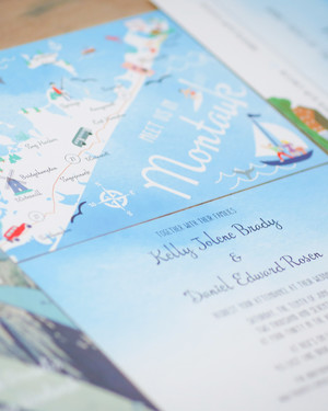 One Couple's Boho Beach Wedding in Montauk, New York