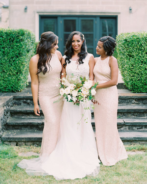 Neutral Beige Bridesmaids' Dresses Your Entire Wedding Party Will Love