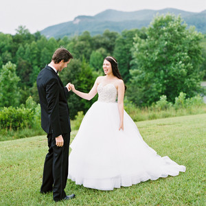 dani jackson wedding first look