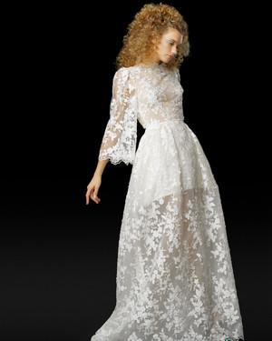 Jackie Kennedy Inspired Wedding Dress 33 Beautiful Elizabeth Fillmore Fall Wedding
