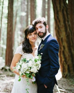 """""""Smilf"""" Star Frankie Shaw and Zach Strauss's Rustic-Chic California Wedding"""