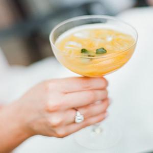 melissa michael wedding cocktail