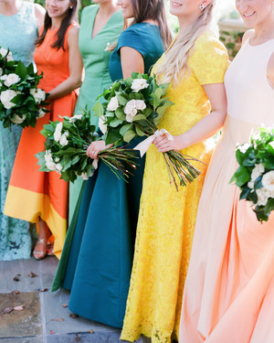 28 Reasons to Love the Mismatched Bridesmaids' Dress Look