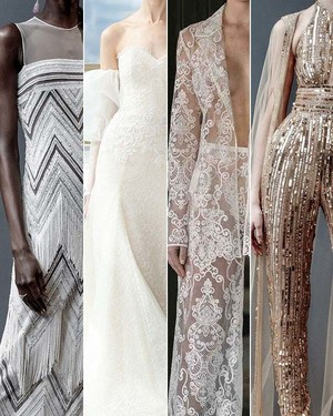 Wedding Dress Trends from Spring 2019 Bridal Fashion Week