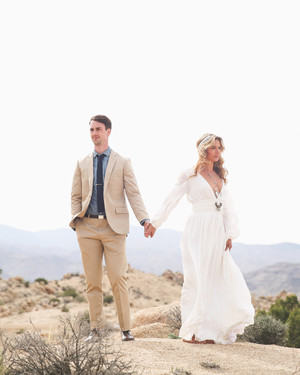 Christen and Billy's California Desert Wedding