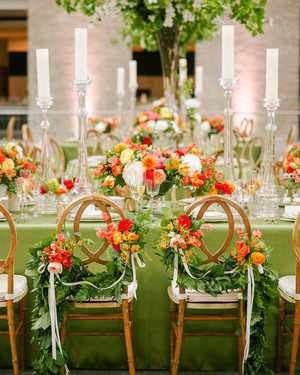 A Colorful Wedding at a Boston Art Museum