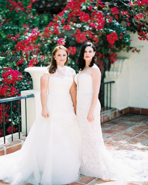 The Prettiest Same-Sex Wedding Looks from Brides