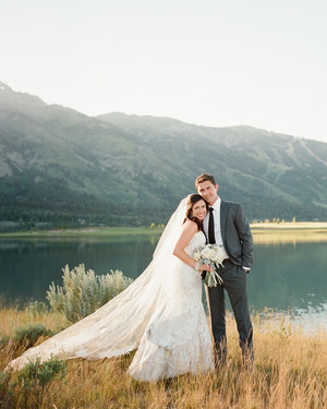 An Elevated Countryside Wedding in Wyoming