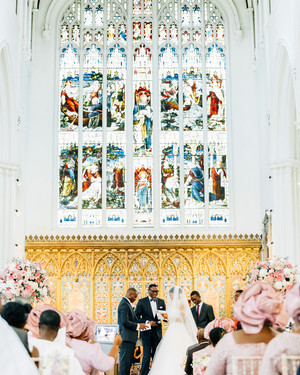 19 Unique Ways to Incorporate Stained Glass Into Your Wedding Design