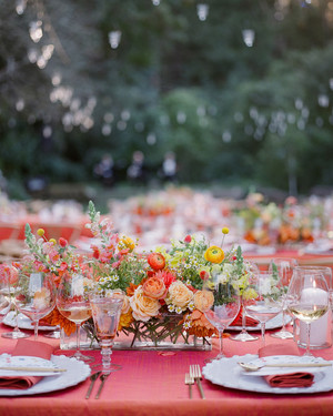 A Colorful Outdoor Wedding in Napa Valley