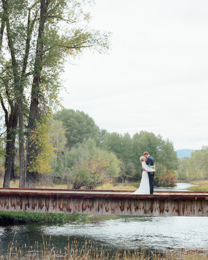 A Fall Wedding Inspired by the Scenery of Wyoming