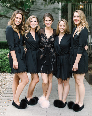 Bridesmaids' Robes for Your Girls to Wear While Getting Ready