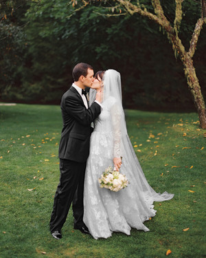 A Traditional North Carolina Wedding With Plaid Details